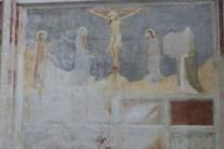 La chapelle des fresques-La Crucifixion