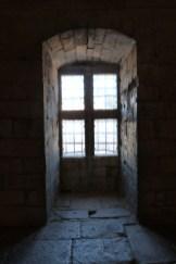Le préau des prisonniers
