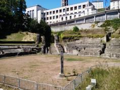 Amphithéâtre des Trois Gaules - poteau des suppliciés