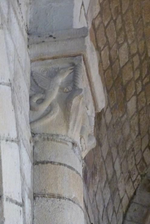 chapiteau décoré