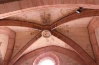 Voûte de la chapelle de la Vierge de pitié