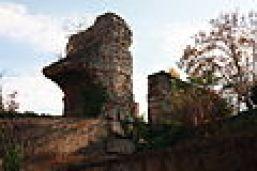 Pile support du réservoir de chasse et rampant du siphon du Trion (fort Saint-Irénée)