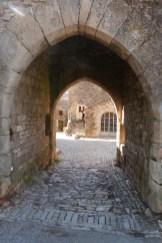Le portail d'Amont