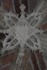 Clef de voûte décorée