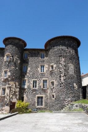 Le château du Monastier-sur-Gazeille