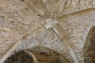 Scriptorium- voûte à croisée d'ogive