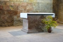 La nef - l'autel