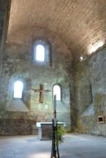La nef - l'abside