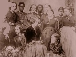 La guerre de Secession de Ken Burns - Groupe de femmes de Charleston