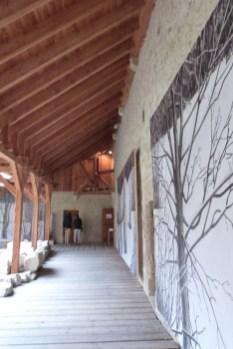 Le cloître - les galeries
