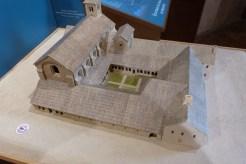 Abbaye de Boscodon - maquette