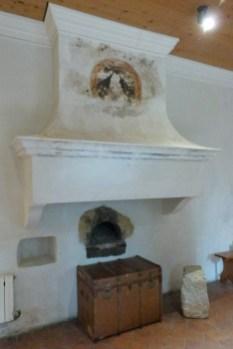 Salle du chauffoir et ancienne cuisine