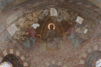 L'abside - fresques