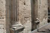 Façade occidentale - colonnes et pilastres