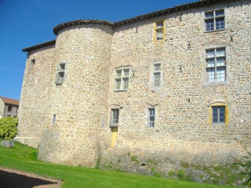 Façade du prieuré