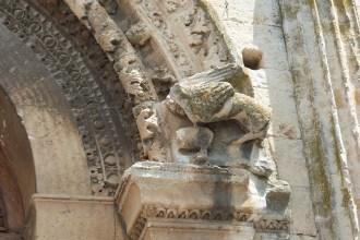 Façade occidentale-Décoration du portail