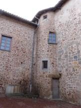 Porte d'entrée du prieuré