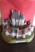 Appartement - maquette du château de Sagonne