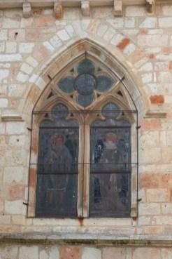 Façade et vitraux