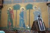 Peintures dans l'abside