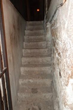 Crypte - escaliers