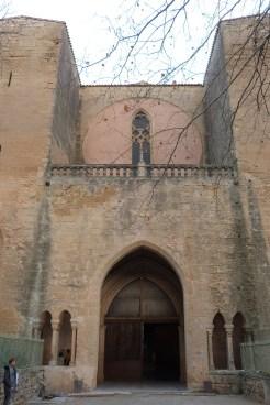 Façades extérieures - entrée du narthex