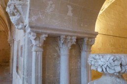 Le cloître -la salle capitulaire