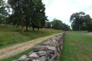 Le mur de Marye's Heights