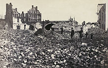 Richmond en ruine en1865