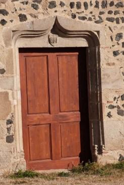 Le Pic de Montverdun -entrée de l'église