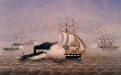 Combat entre le Virginia et le Cumberland