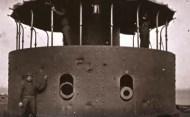 Le Monitor et sa tourelle pivotante