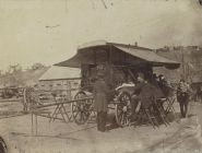 Wagon de bureau du quartier général de l'armée du Cumberland