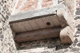 Bretèche ou latrines