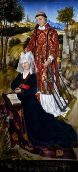 Laurette de Jaucourt et Saint Laurent