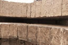 Porte rempart - logement probable d'une herse