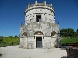 Mausolée de Théodoric le Grand à Ravenne, Italie