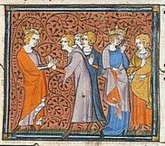 Clovis II et Nanthilde
