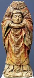 Statue céphalophore de Saint Denis - La Celle Condé