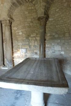 Abside nord et l'autel