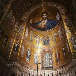 La Cathédrale de Monreale - l'abside