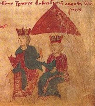 Henry VI et Constance de Hauteville