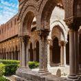 La Cathédrale de Monreale - le cloître 1