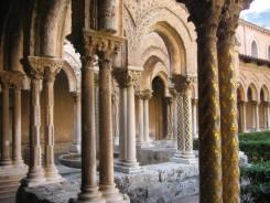 La Cathédrale de Monreale - le cloître2