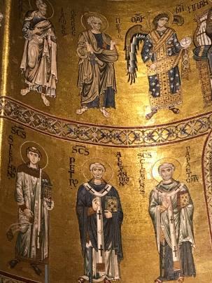 La cathédrale de Monreale - fresques
