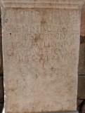 Stèle-Autel offert par un veteran des armees romaines