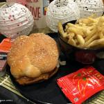 McDonald's Golden Samurai Burgers