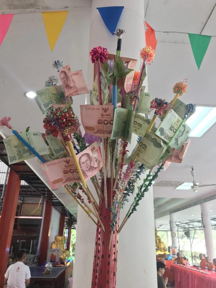 ?? money flowers?