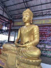 This Buddha looks generous