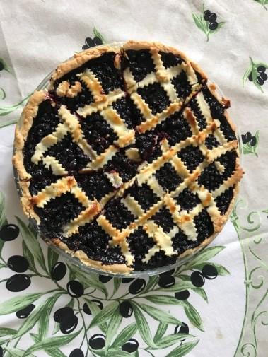 Super nice blueberry tart